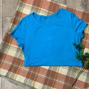 George Blue Medium Short Sleeve Tee / Tshirt